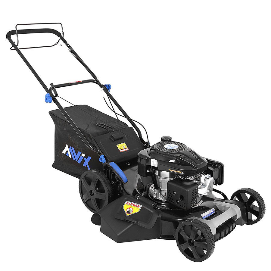 AAVIX AGT1321 159cc 22-Inch Self-Propelled Gas Lawn Mower