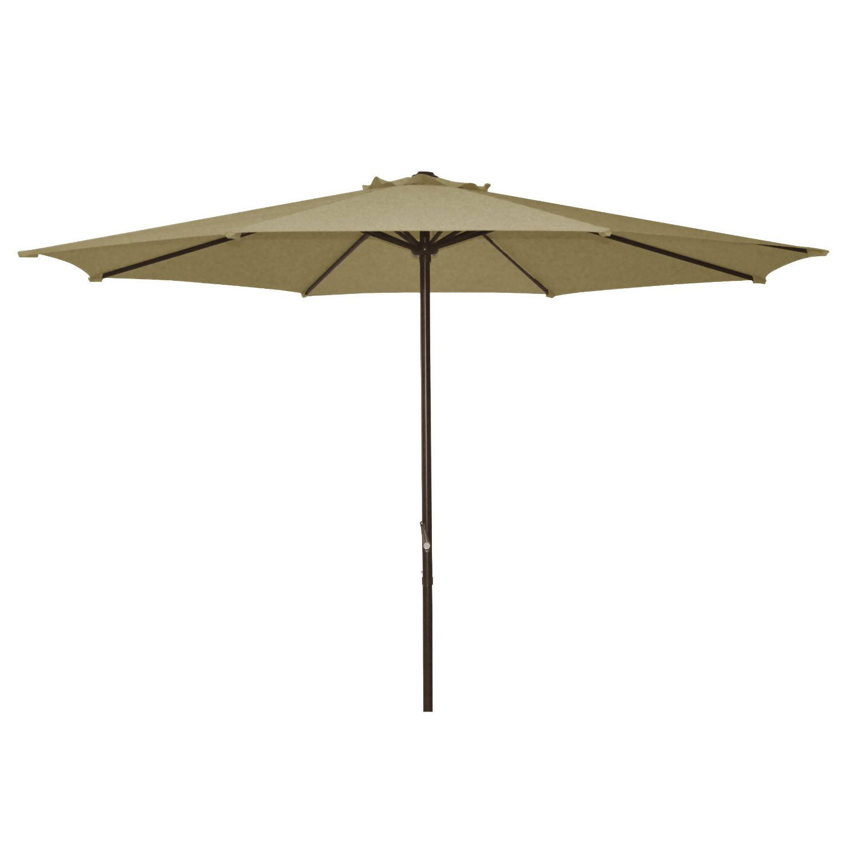 Ace Evert 9′ Polyester Market Patio Umbrella