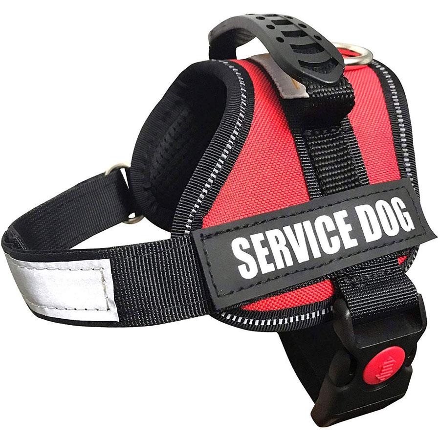 ALBCORP Reflective Padded Service Dog Vest