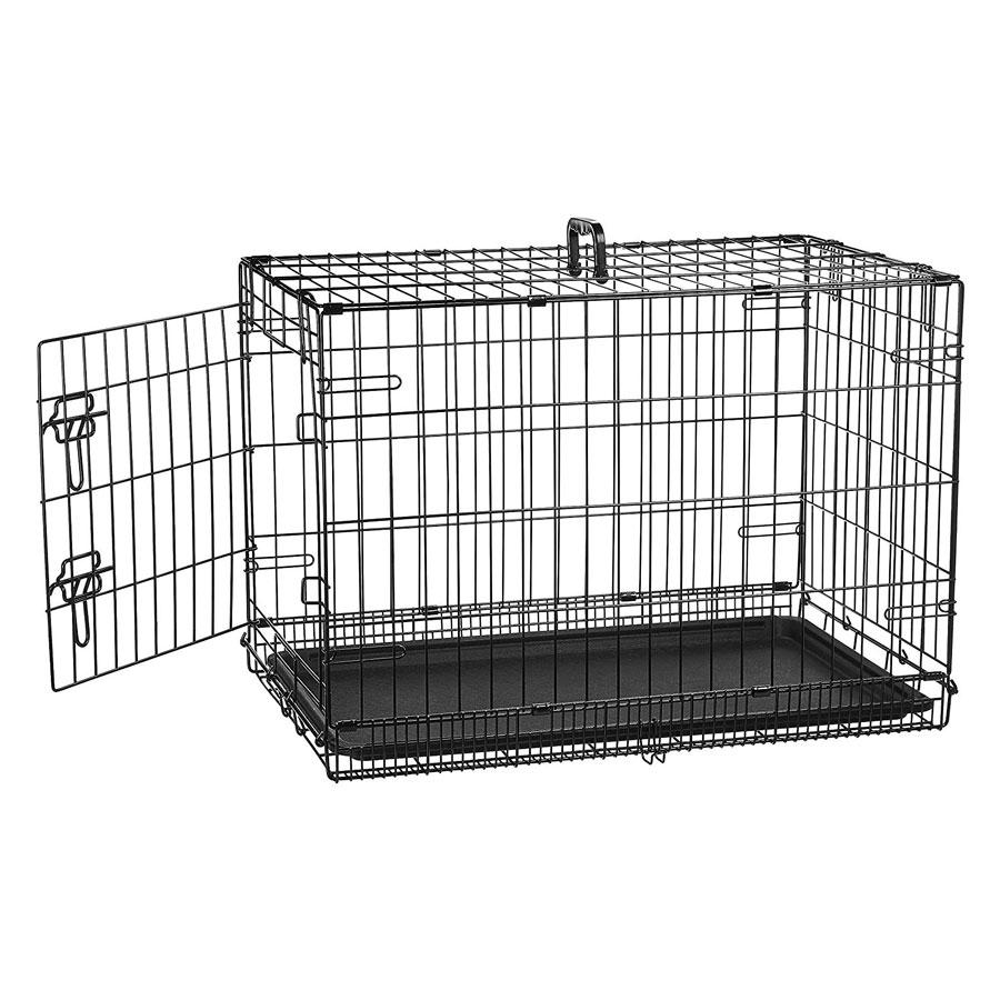 AmazonBasics Folding Metal Cat Cage