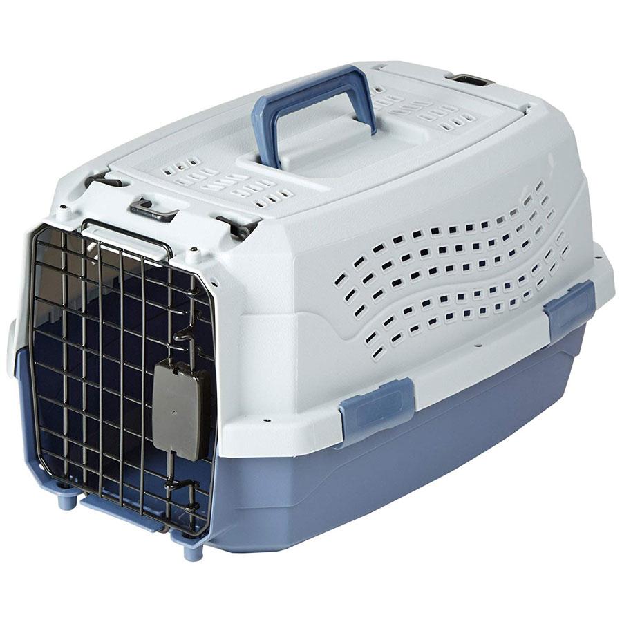 AmazonBasics Two-Door Top-Load Cat Cage