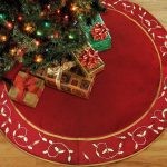 Anotherme Deluxe Handmade Large Christmas Tree Skirt