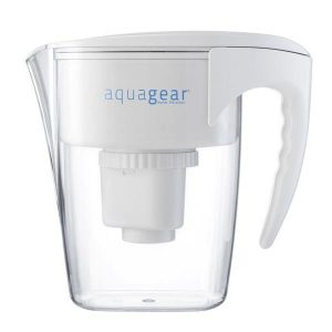 Aquagear 10 Cup Chromium-6 Water Filter Pitcher