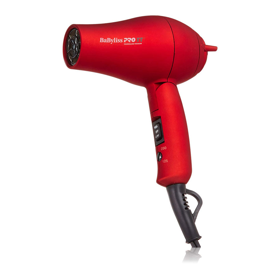 BaBylissPRO Tourmaline Titanium Travel Hair Dryer