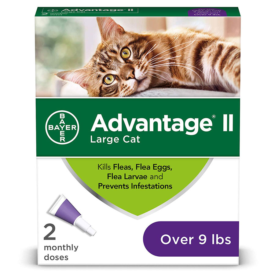 Bayer Advantage II Prevention Cat Flea Treatment