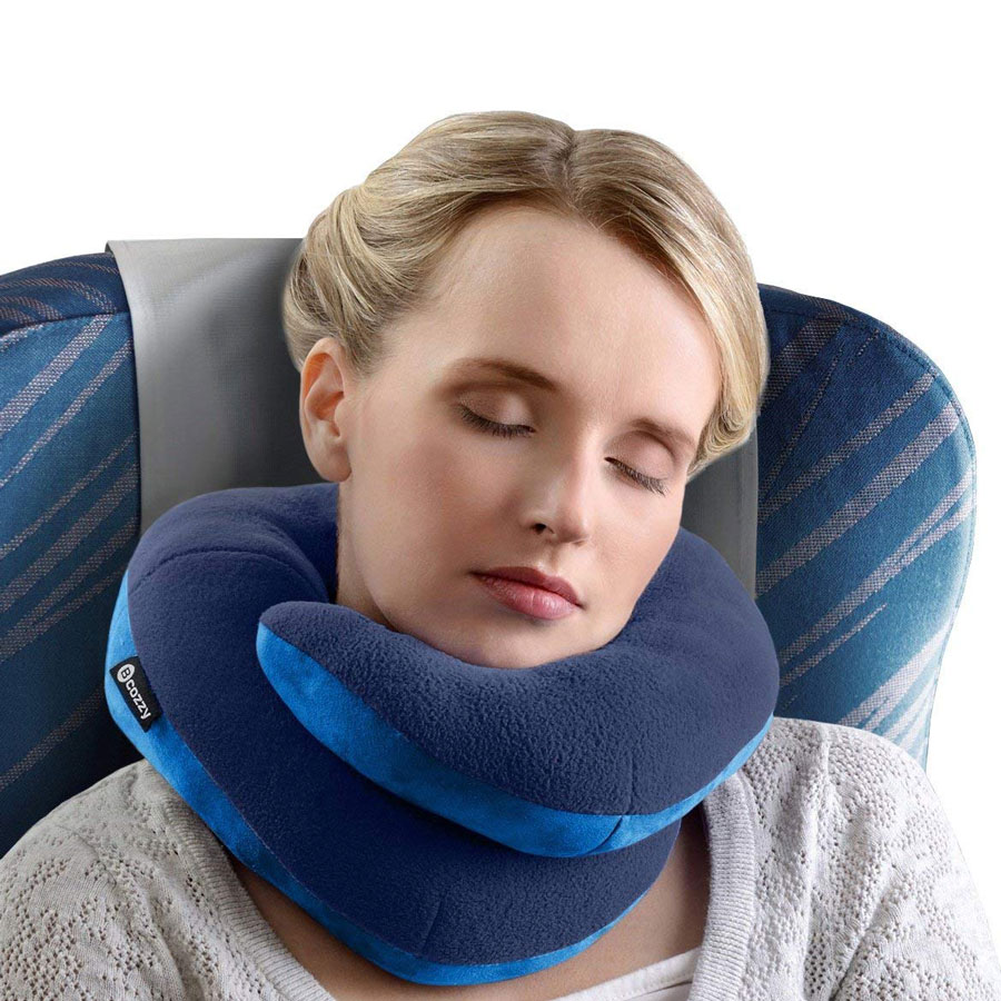 Bcozzy Head Neck Chin Supporting Travel Pillow