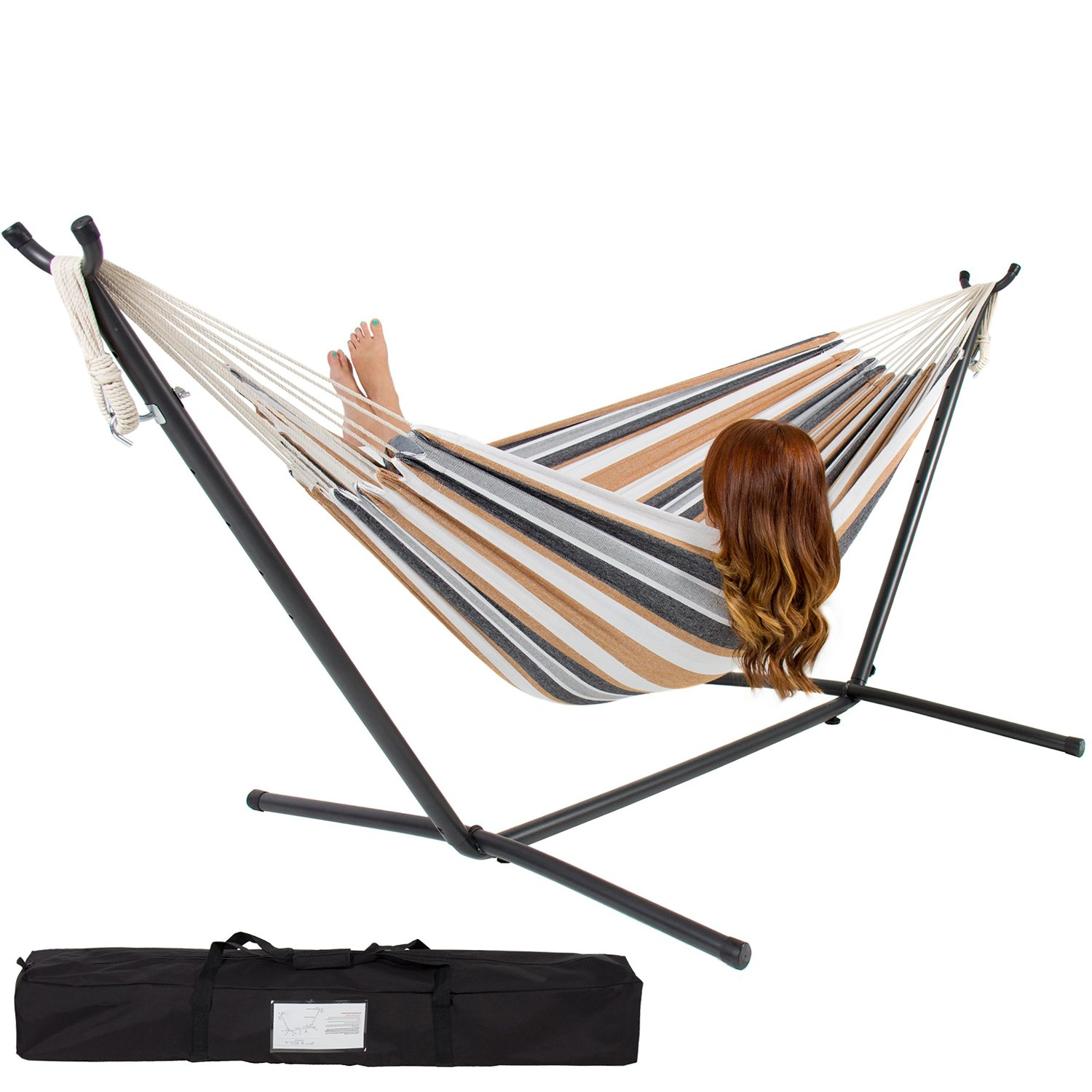 Best Choice Double Hammock With Steel Stand