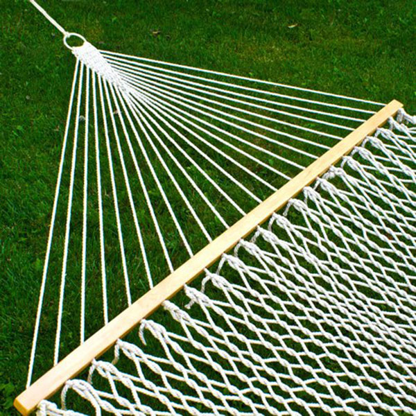 Best Choice Double Hammock With Wood Spreader