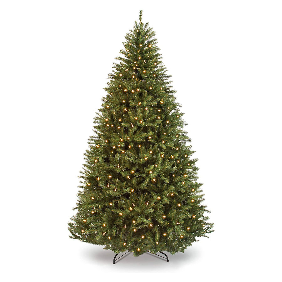 Best Choice Products Douglas Fir Hinged Pre-Lit Artificial Christmas Tree