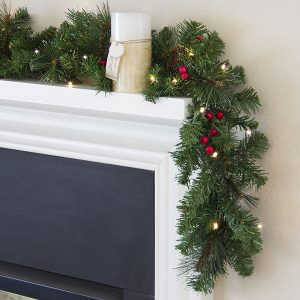Best Choice Products Prelit Spruce Christmas Garland