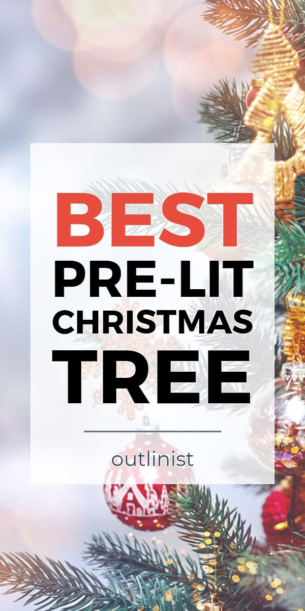 Best Pre-Lit Christmas Tree • Reviews & Buying Guide
