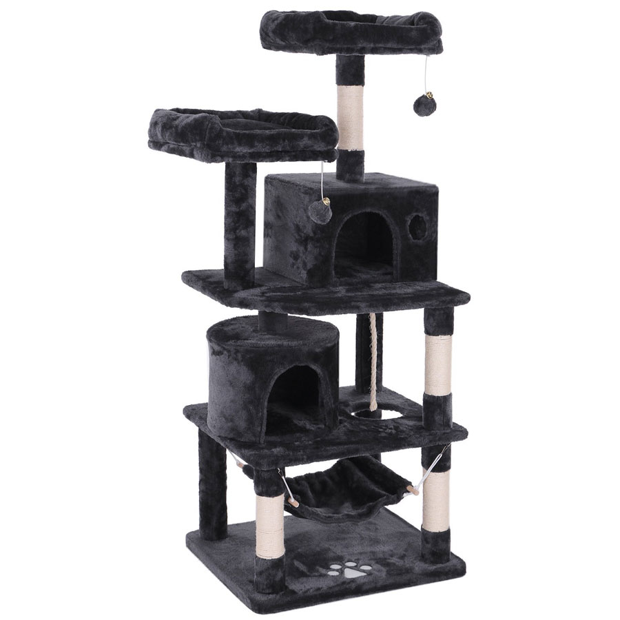 Bewishome 57-Inch Activity Tower Cat Tree