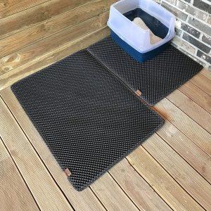 BlackHole Dual Structure Cat Litter Mat