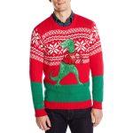 Blizzard Bay Dinosaur Ugly Christmas Sweater
