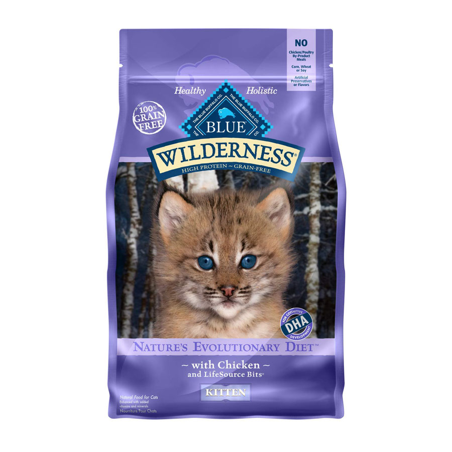Blue Buffalo Wilderness Grain-Free Dry Kitten Food