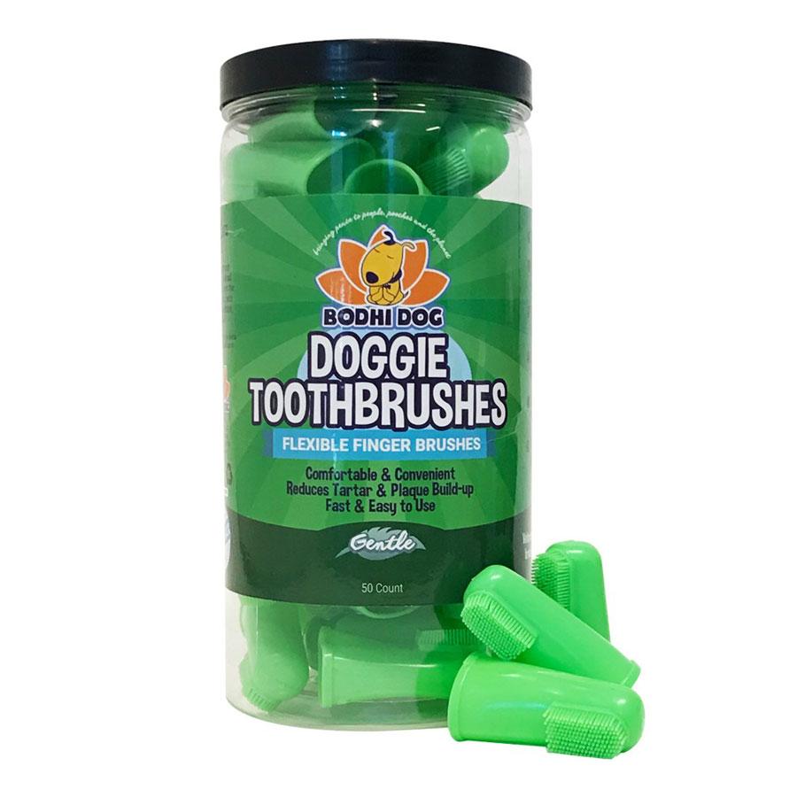 Bodhi Dog Gentle Disposable Finger Dog Toothbrush