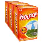 Bounce Outdoor Fresh Dryer Sheets Fabric Softener