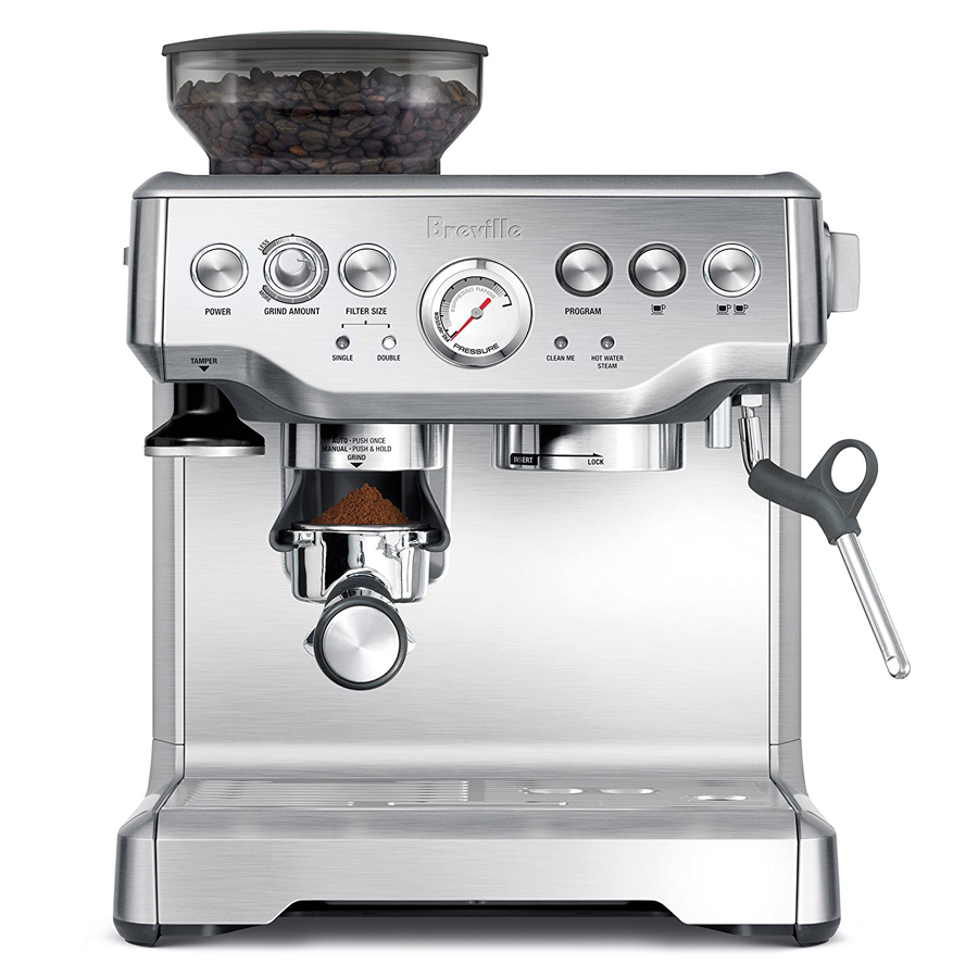 Breville BES870XL Barista Express Commercial Espresso Machine