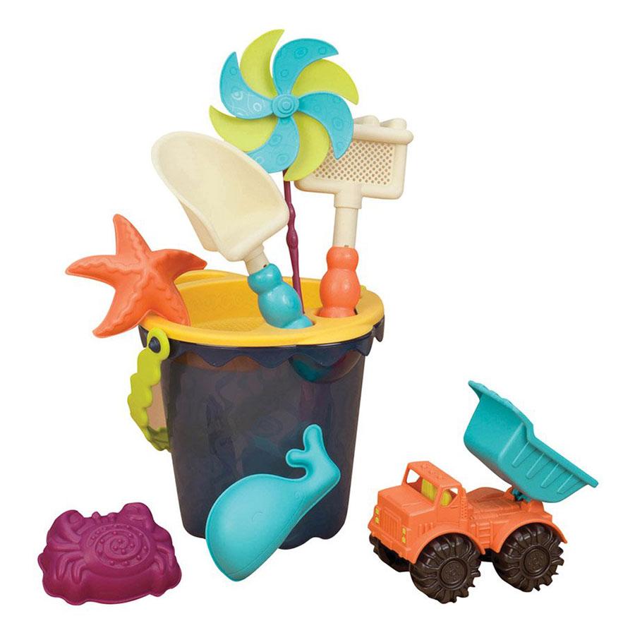 Btoys Sands Ahoy BPA-Free Playset Beach Toys