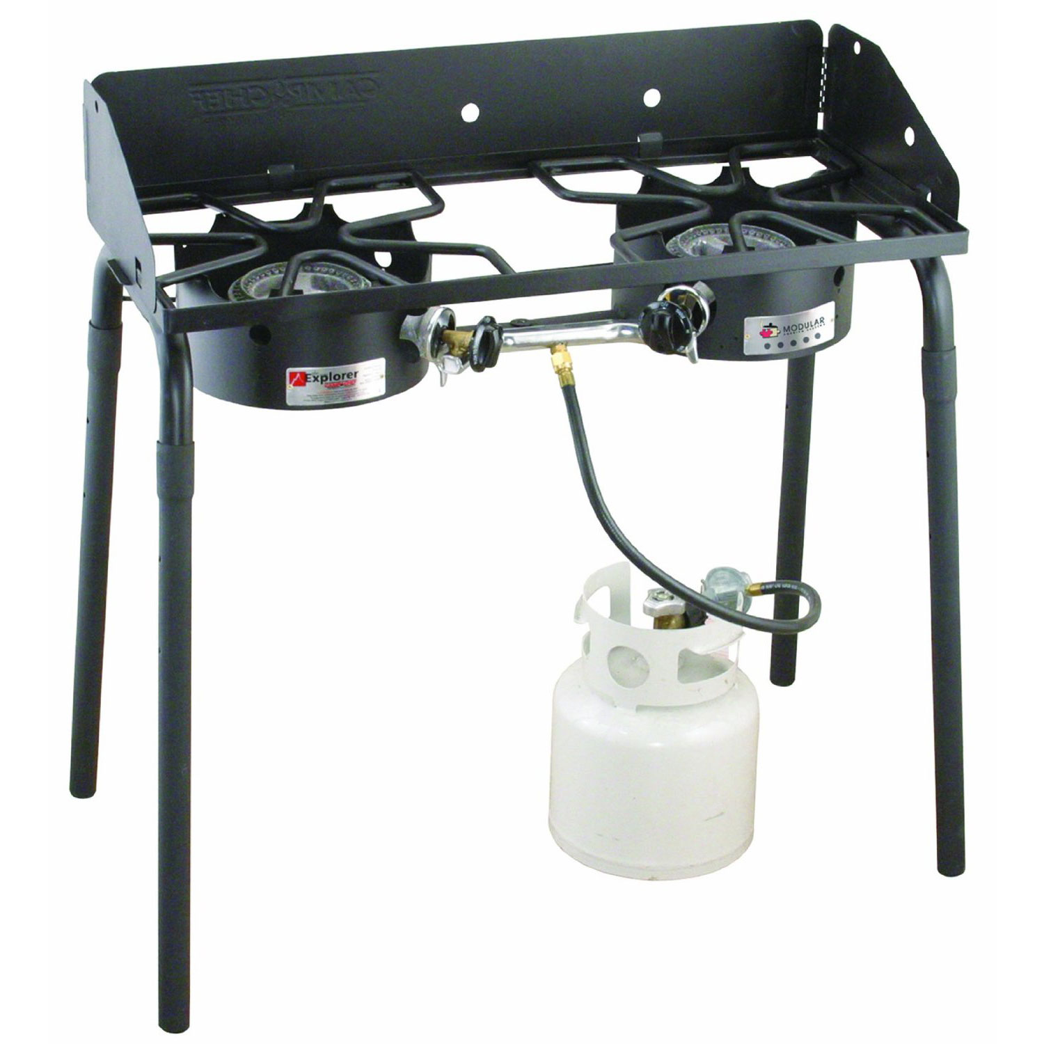 Camp Chef Explorer 2-Burner Portable Camping Stove