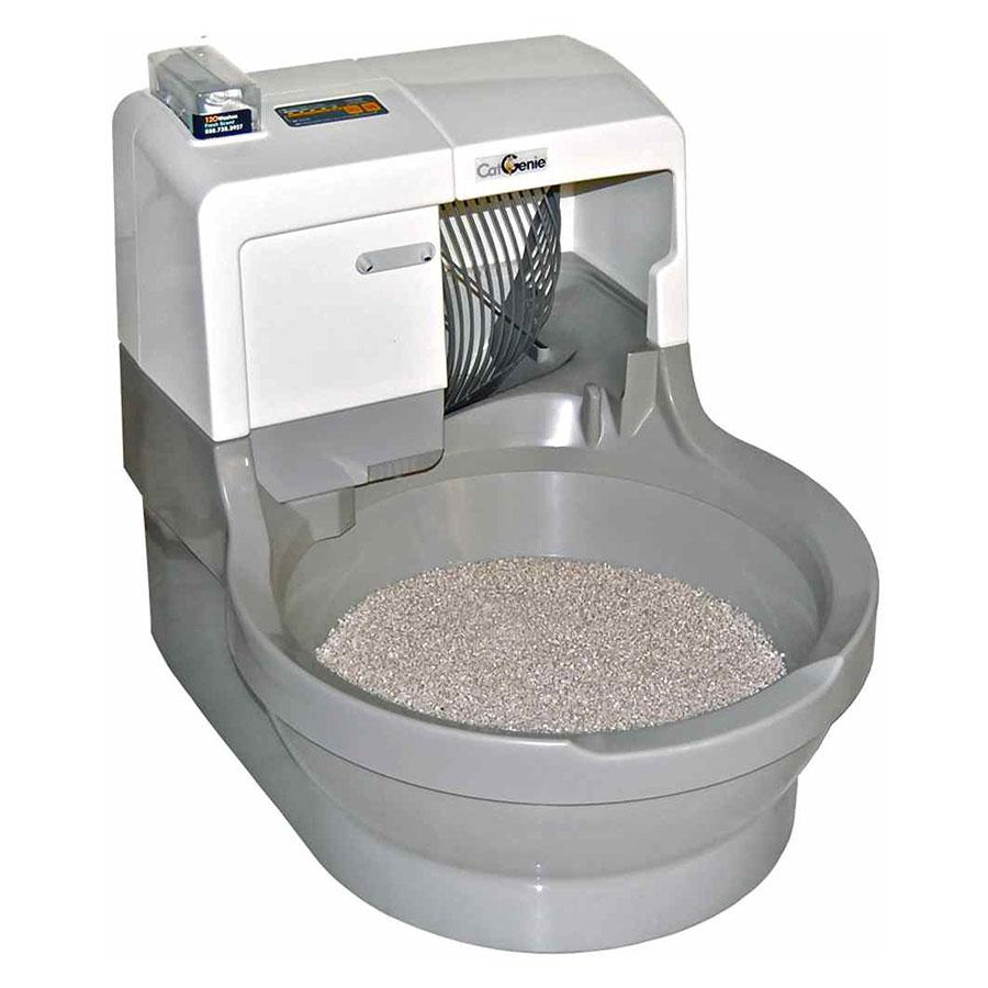 CatGenie Self-Washing Self-Flushing Automatic Cat Litter Box