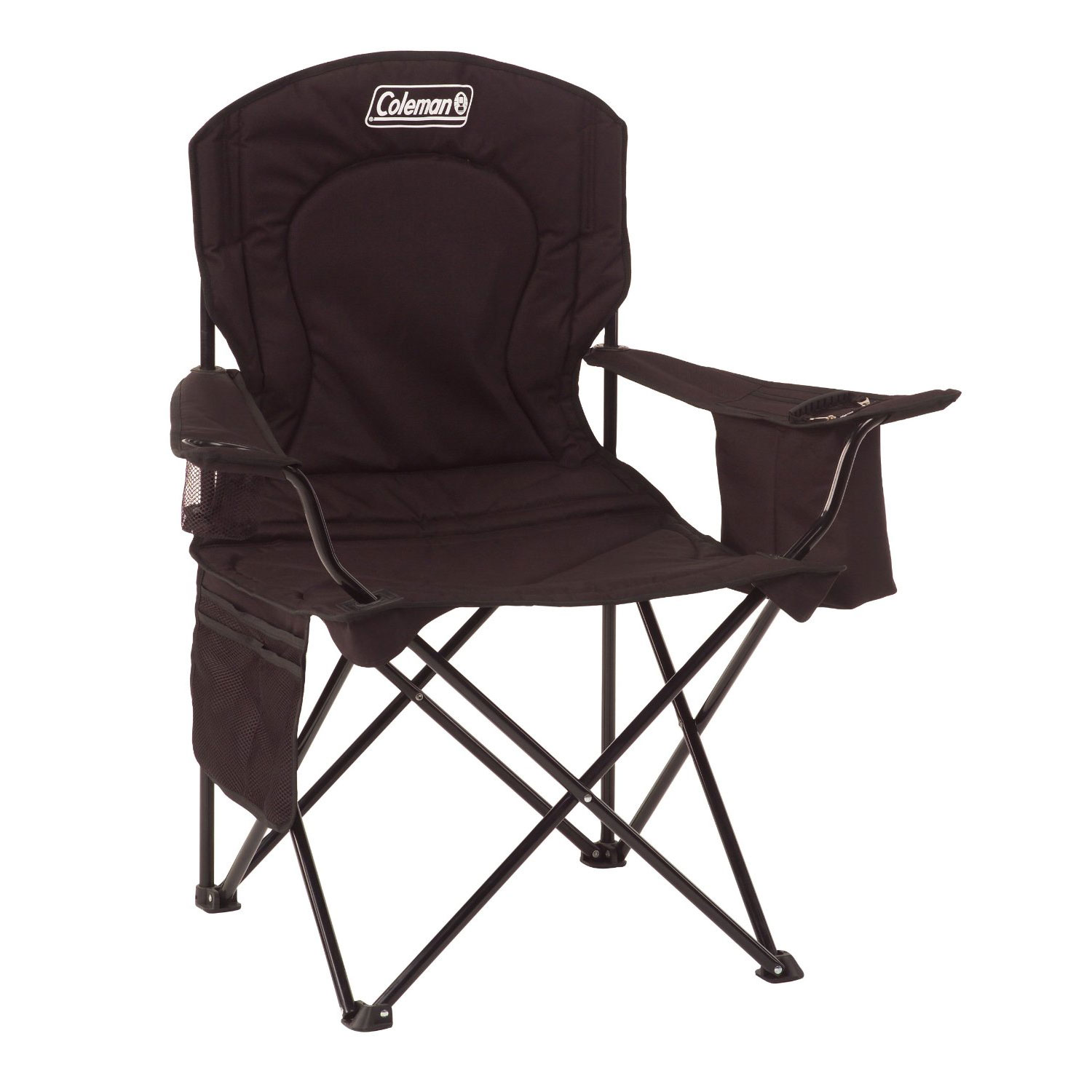 Coleman Oversized Folding Camping Chair With Cooler