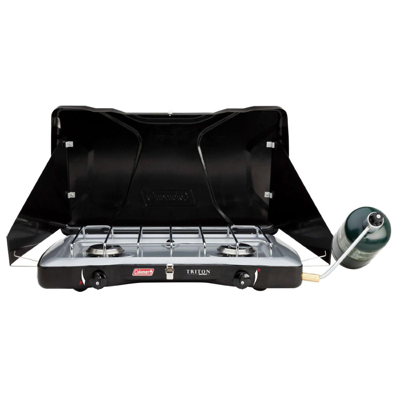 Coleman Triton 2-Burner Portable Camping Stove
