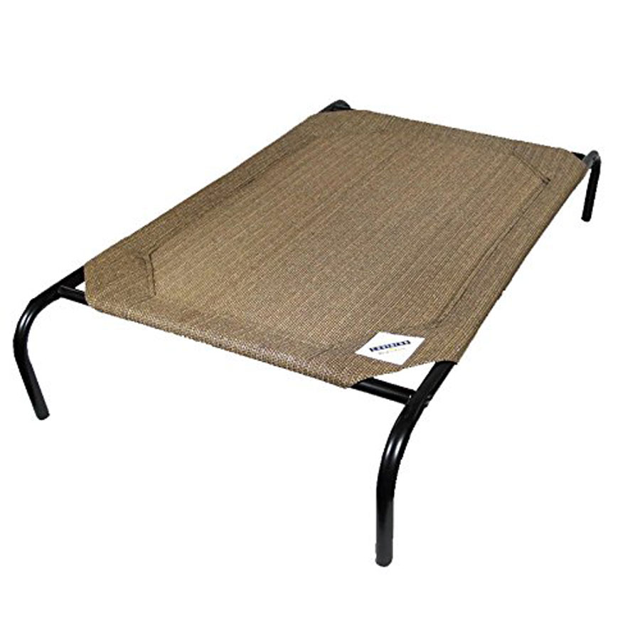 Coolaroo Original Knitted Fabric Elevated Dog Bed