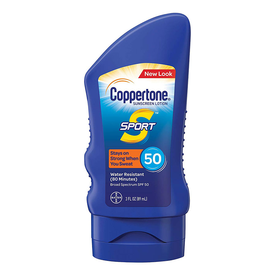 Coppertone SPORT Lotion Broad Spectrum SPF 50 Sunscreen