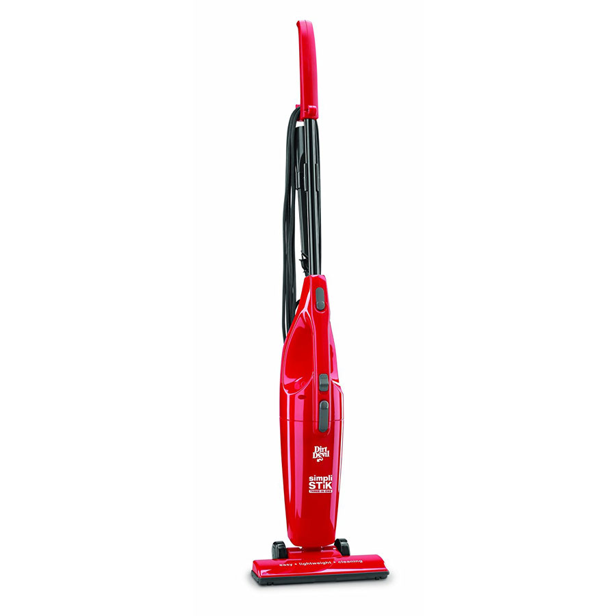 Dirt Devil SD20000RED Simpli-Stik Bagless Corded Stick Vacuum