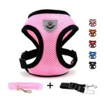 DogJog Adjustable Soft Mesh Padded Cat Harness