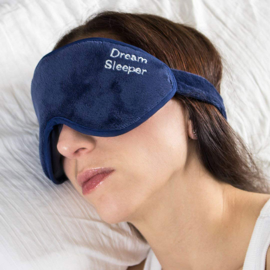 Dream Sleeper Eye Pockets Sleep Mask