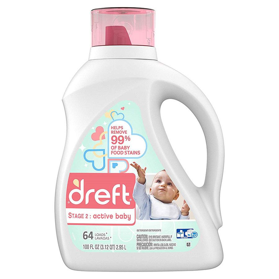 Dreft Purtouch Baby Liquid Laundry Detergent