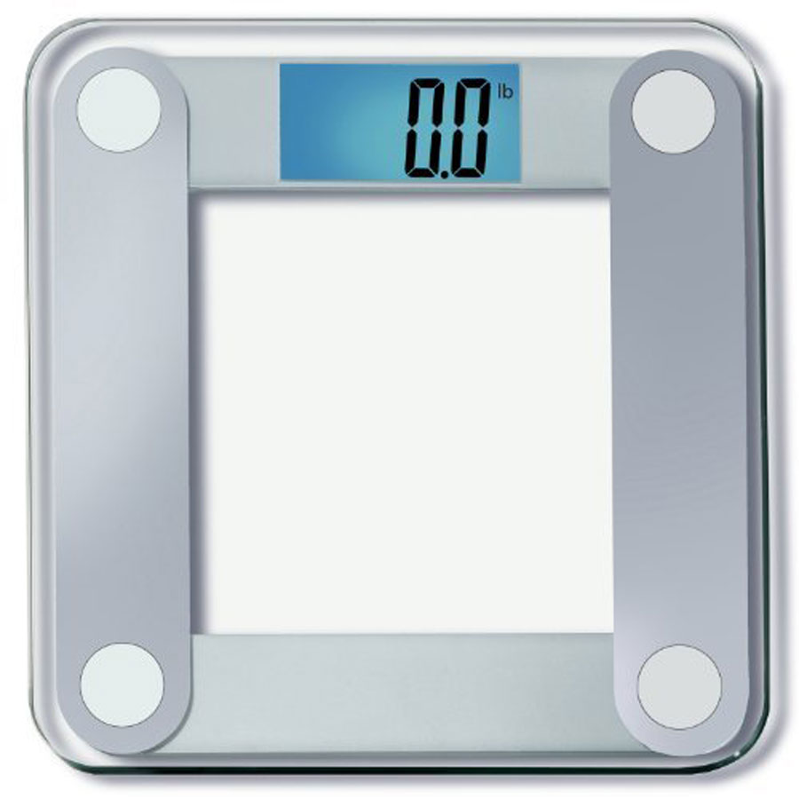 EatSmart XL Display Precision Digital Bathroom Scale
