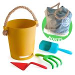Eco Biodegradable Natural Bamboo Fiber Beach Toys