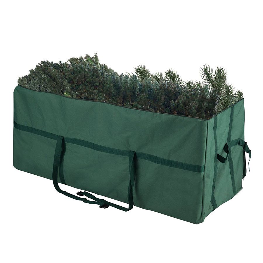 Elf Stor Heavy-Duty Canvas Christmas Tree Bag