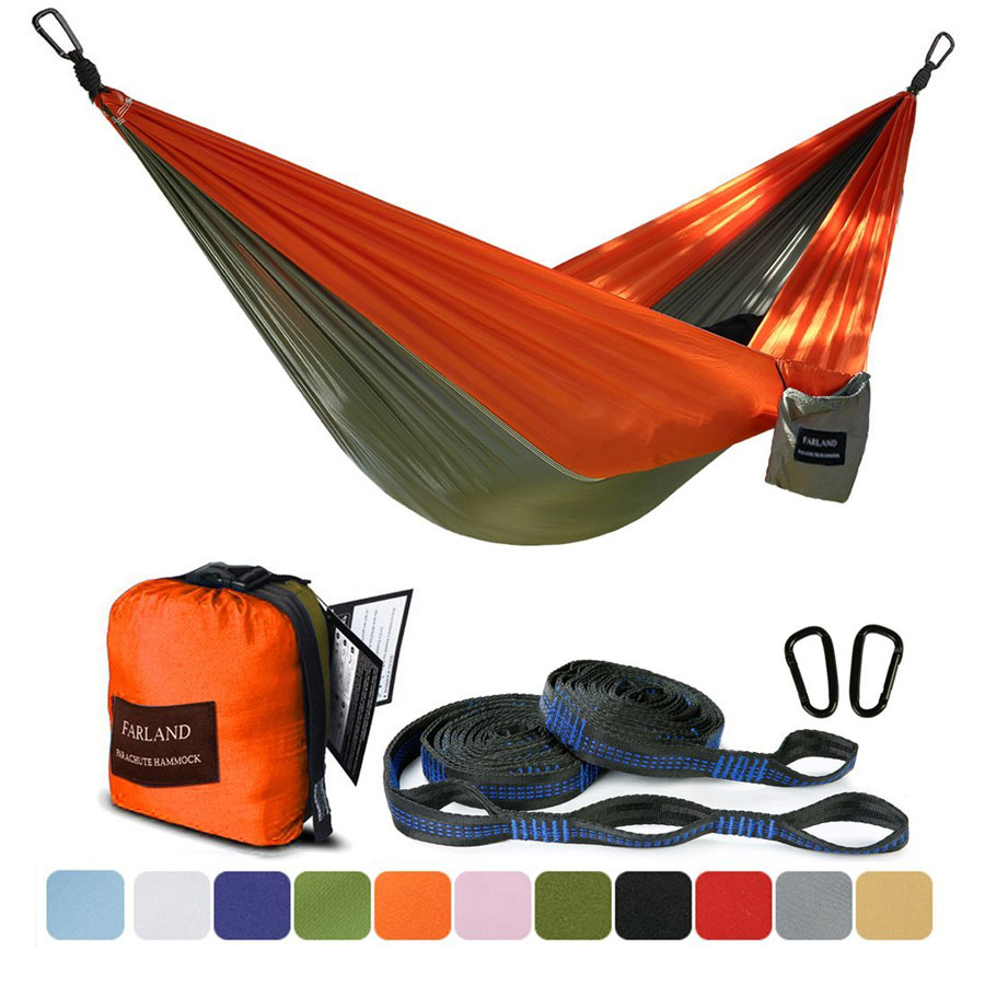 Farland Single & Double Camping Hammock