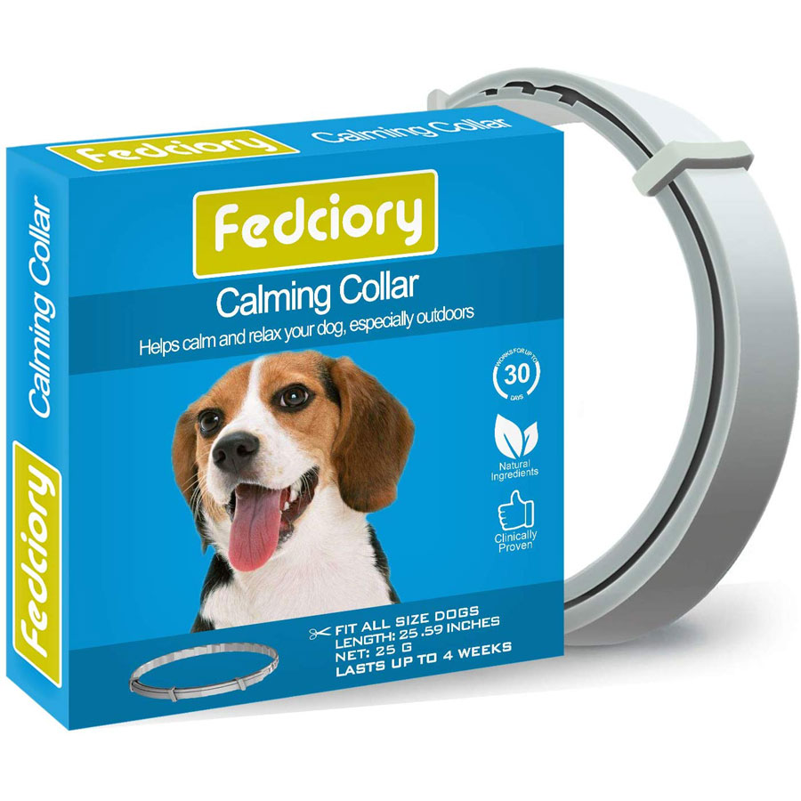 Fedciory Adjustable Pheromone Calming Dog Collar