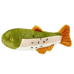 Fluff & Tuff Ruby Rainbow Trout Dog Plush Toy