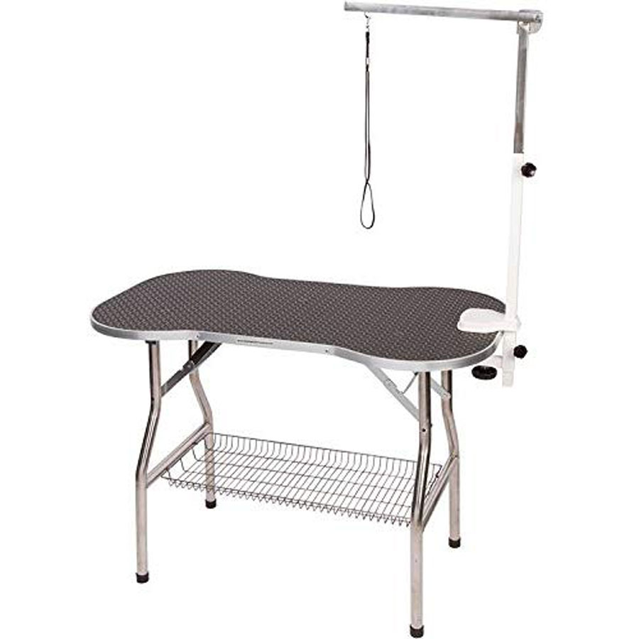 Flying Pig Stainless Steel Dog Grooming Table