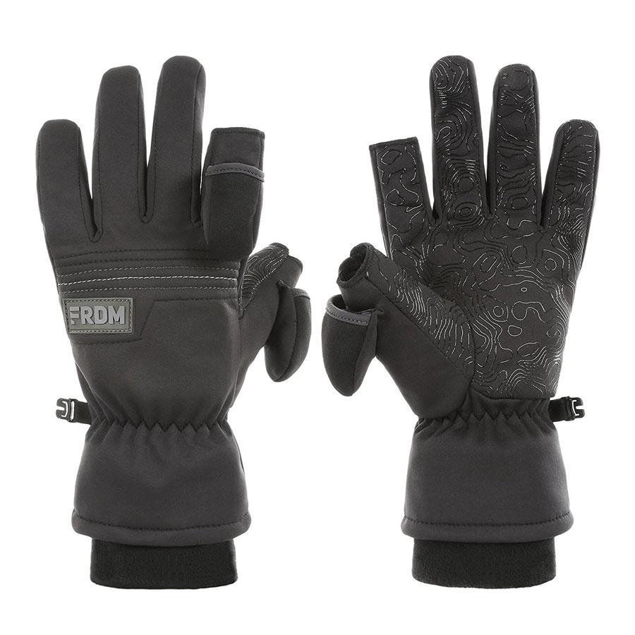FRDM Midweight Convertible Ski Gloves