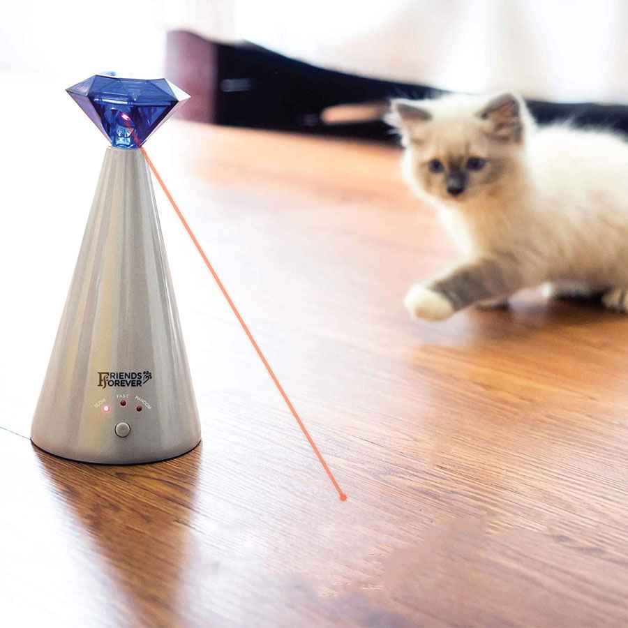 Friends Forever Laser Interactive Cat Toy