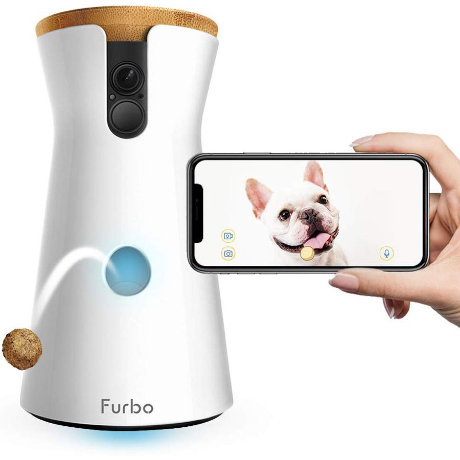 Furbo Treat Tossing Full HD Wi-Fi Dog Camera