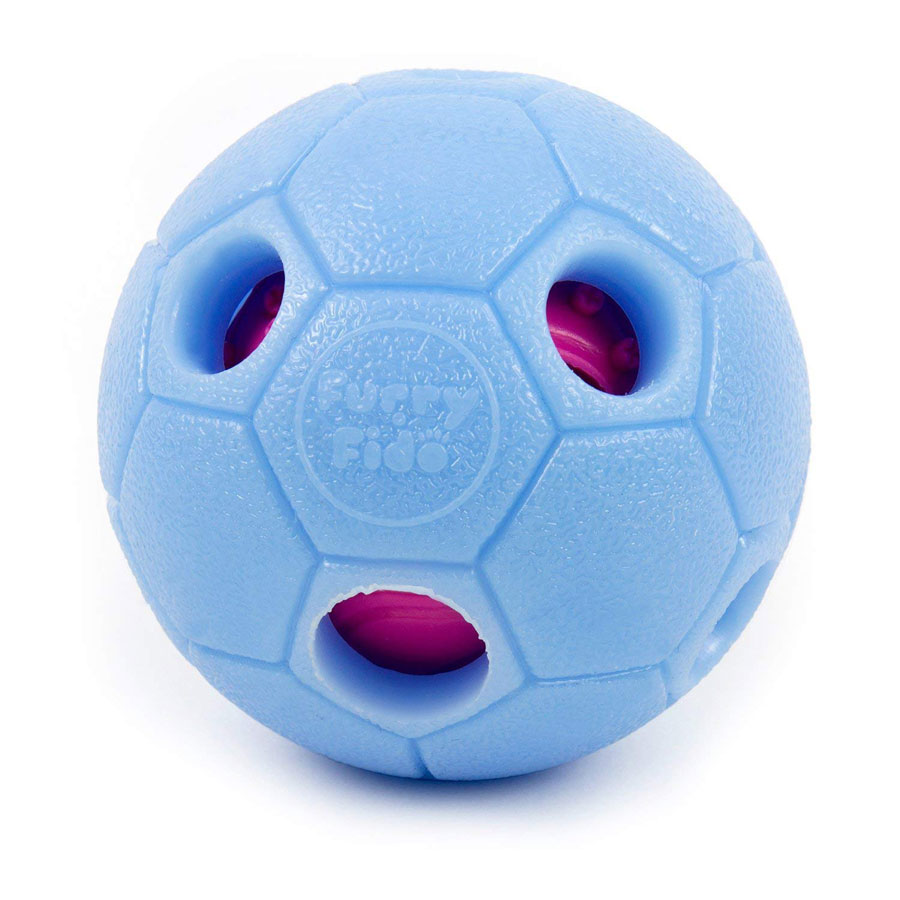 FurryFido Ball Treat Dispensing Dog Interactive Toy