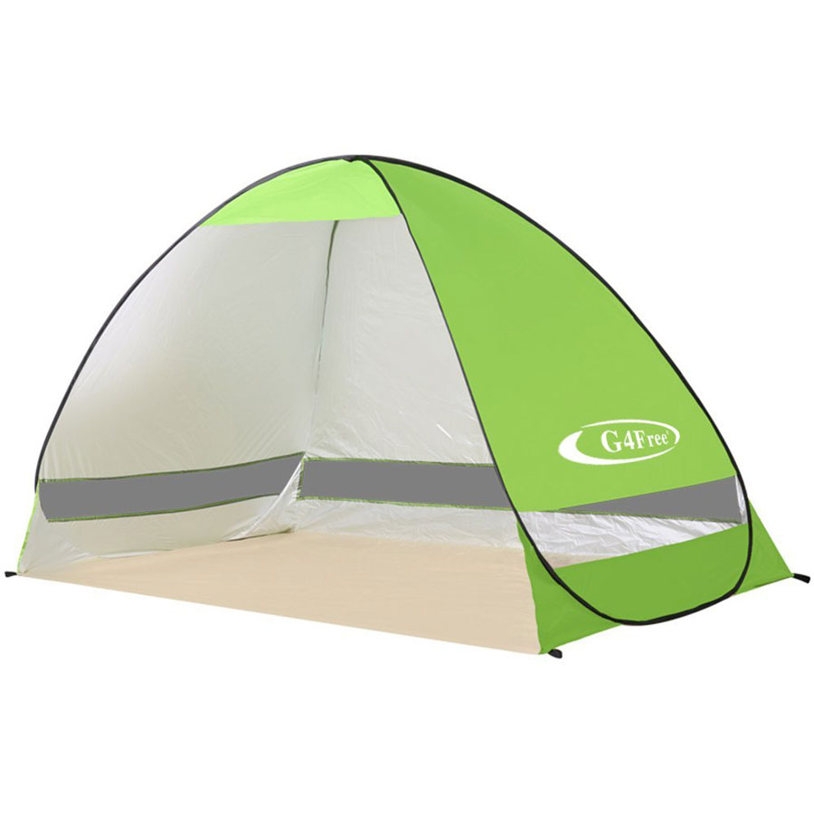 G4Free Automatic Pop Up Instant Beach Tent
