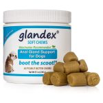 Glandex Anal Gland Soft Chew Treats Dog Laxative