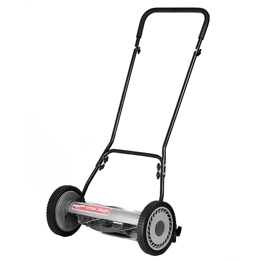 Great States 815-18 18-Inch Push Reel Lawn Mower