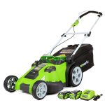 Greenworks 25302 40V Twin Force Cordless 20-Inch Electric Lawn Mower
