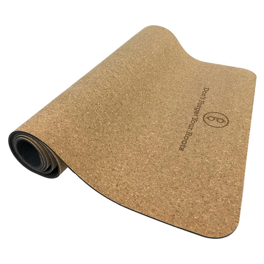 Gurus Natural Cork Rubber Yoga Mat