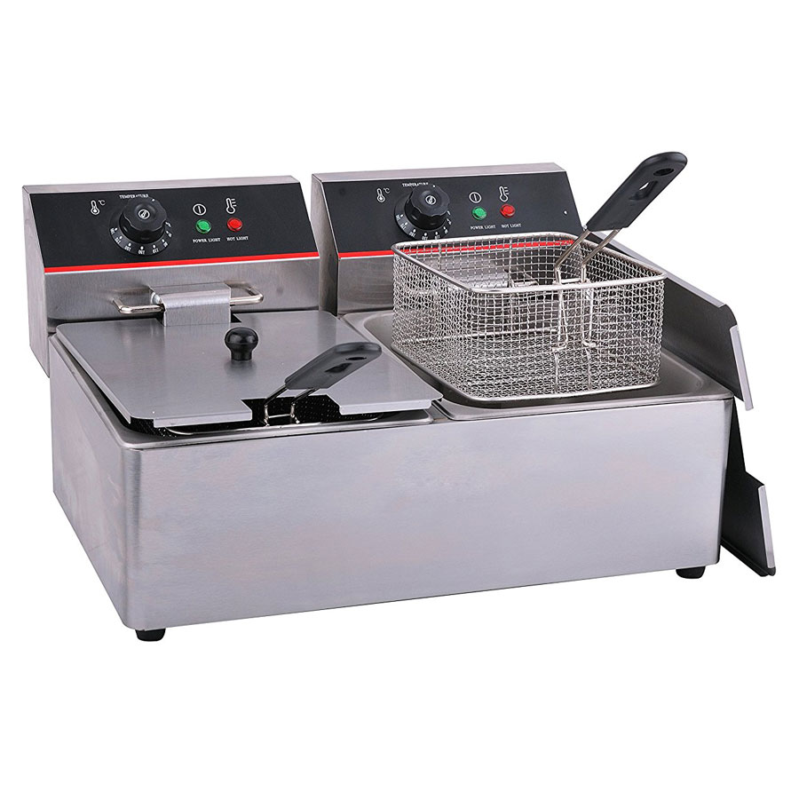 Hakka Stainless Steel Electric Commercial Deep Fryer